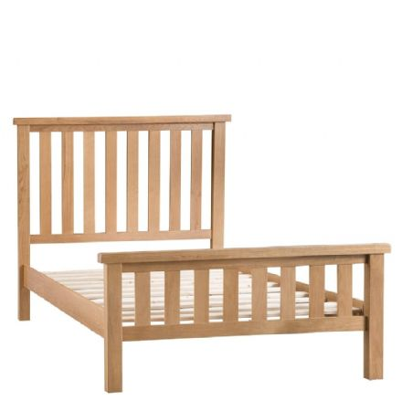 Oslo Oak King Sized Bed